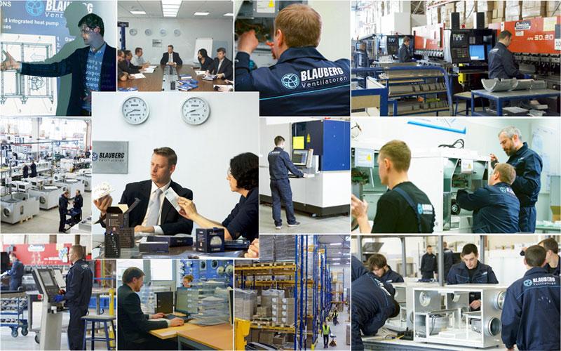 Quạt cấp khí tươi hồi nhiệt Blauberg-công nghệ thông gió hàng đầu đến từ Đức