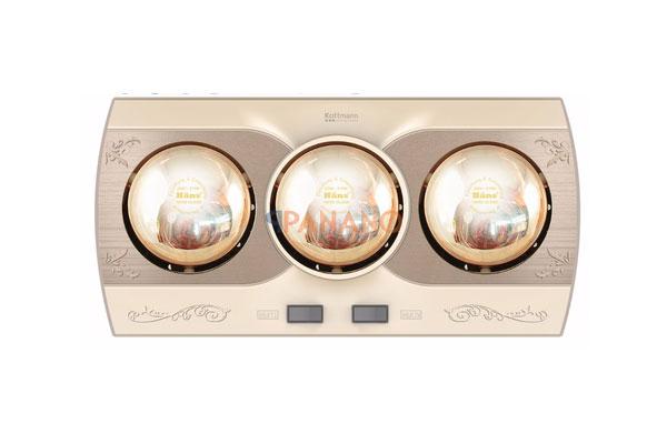 Đèn sưởi nhà tắm K3B-Q chính hãng, chất lượng cao đến từ Kottmann